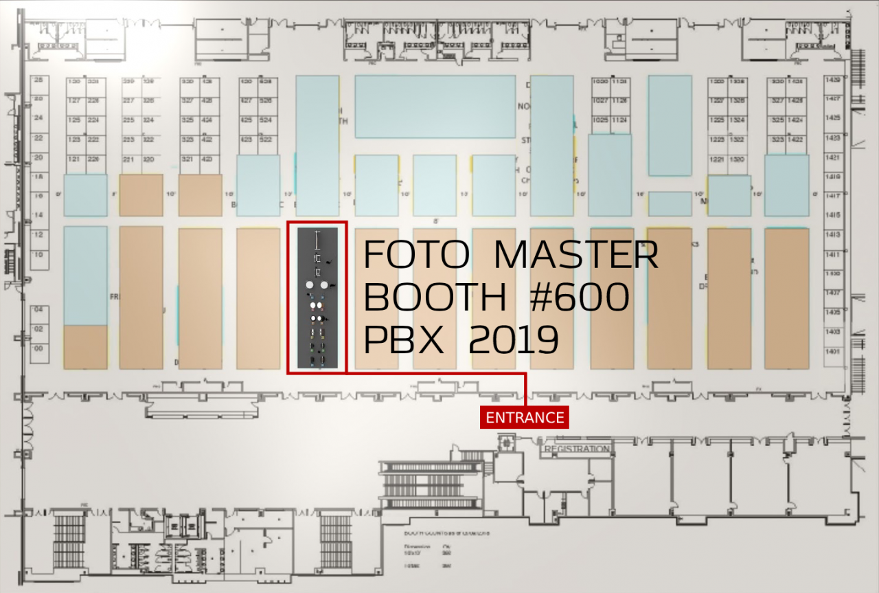 PBX 2019: Foto Master, Booth 600