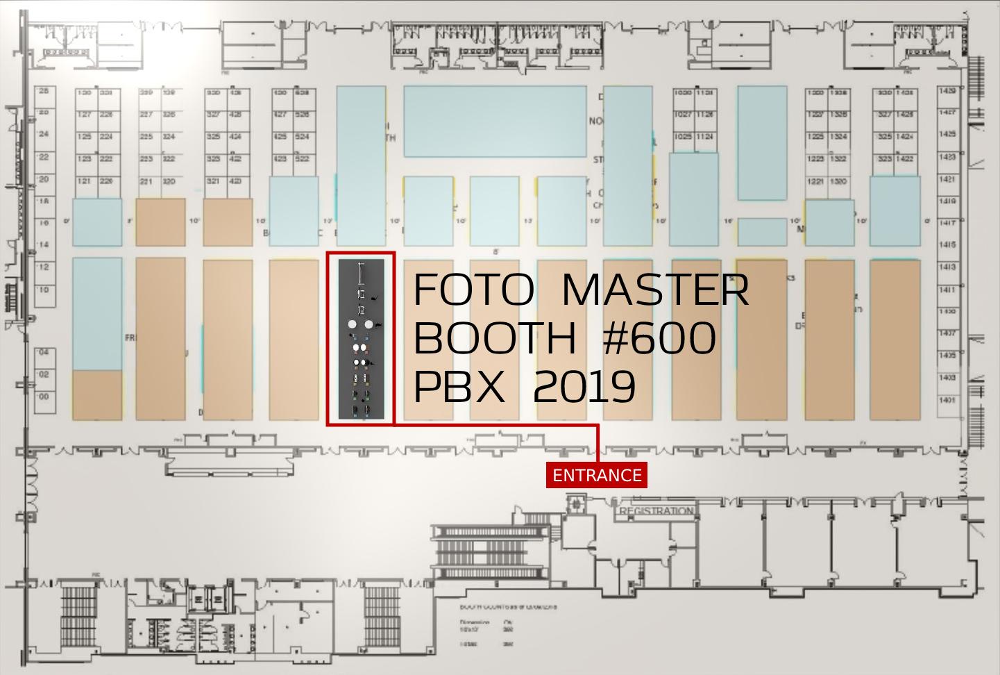PBX 2019: Foto Master, Booth 600