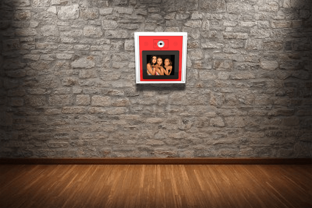 Modular Photo Station: Wall Mounted