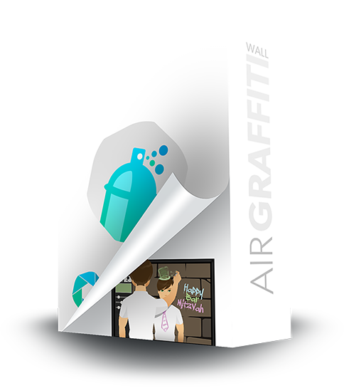 Air Graffiti: Interactive, Virtual & Digital Graffiti Wall