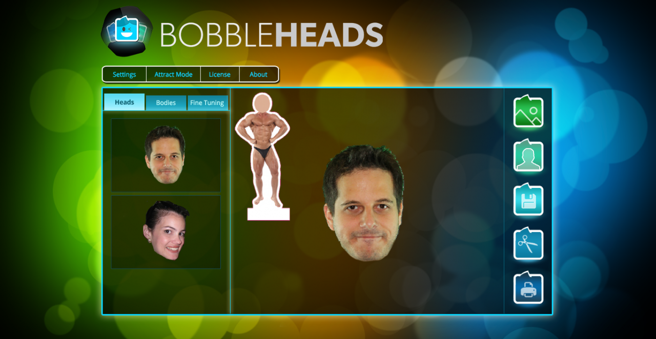Bobble Heads Station: A Screenshot of the user-friendly interface