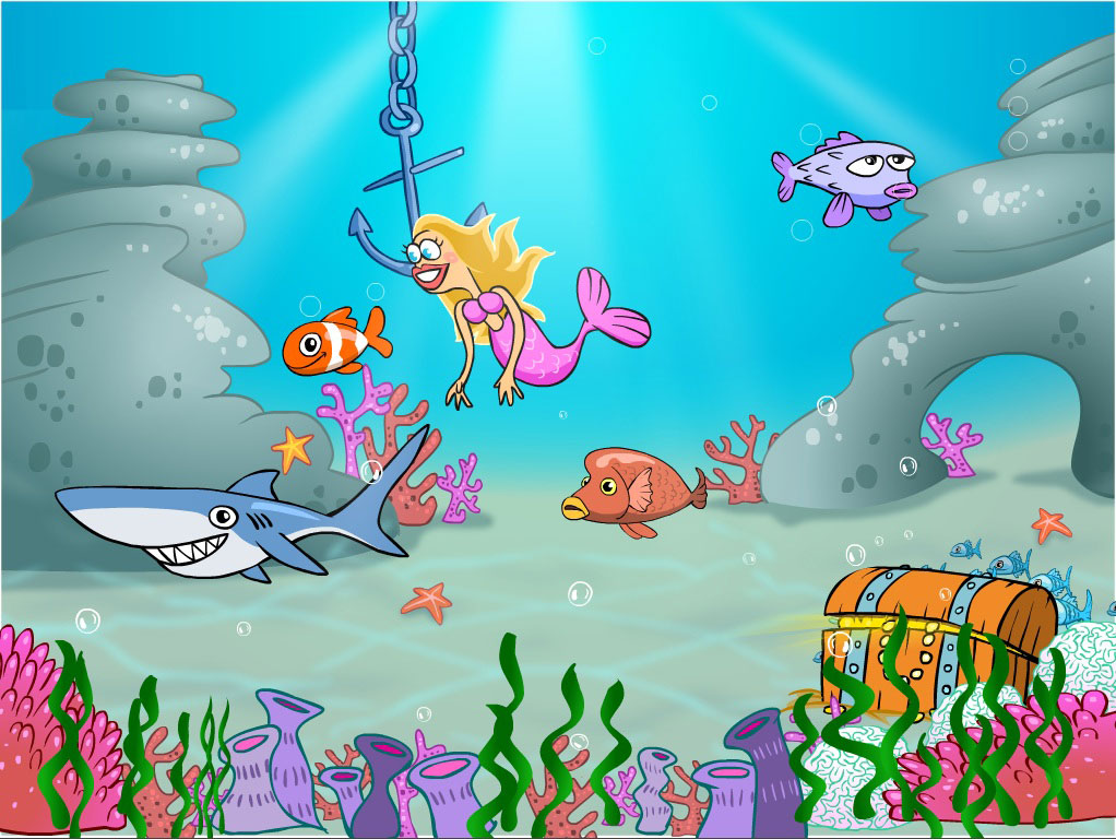 Interactive Story: The Under Water World