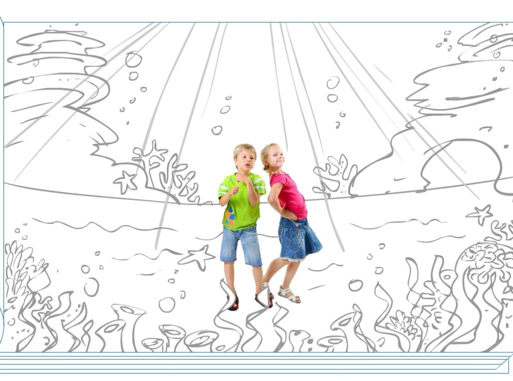 Interactive Story, Sketch: The Making of the Under Water World