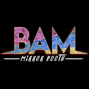 Logo: BAM Mirror Booth