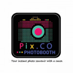 Logo: Pix Co Photo Booth