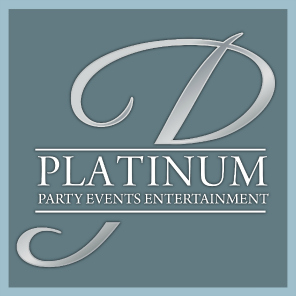 Platinum Party Events, a Foto Master customer: Logo