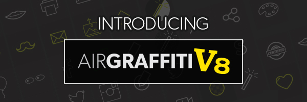 Post Header: Air Graffiti Software V8